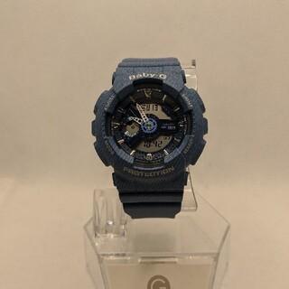 ベビージー(Baby-G)のapelila9様専G-SHOCK baby-G BA-110DC デニムカラー(腕時計(デジタル))