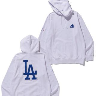 XLARGE - XLARGE×NEWERA×LA Dodgers パーカー Mサイズ