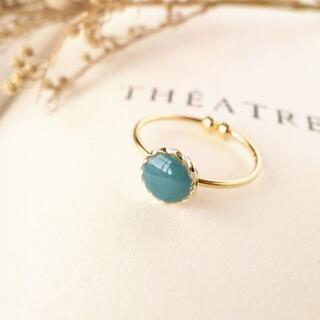 ◆ ◌ブリティッシュ・グリーン🇬🇧◌【指輪/リング】◆NO.97