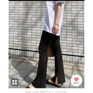 コウベレタス(神戸レタス)の神戸レタス 未使用♡ スリットパンツ(カジュアルパンツ)