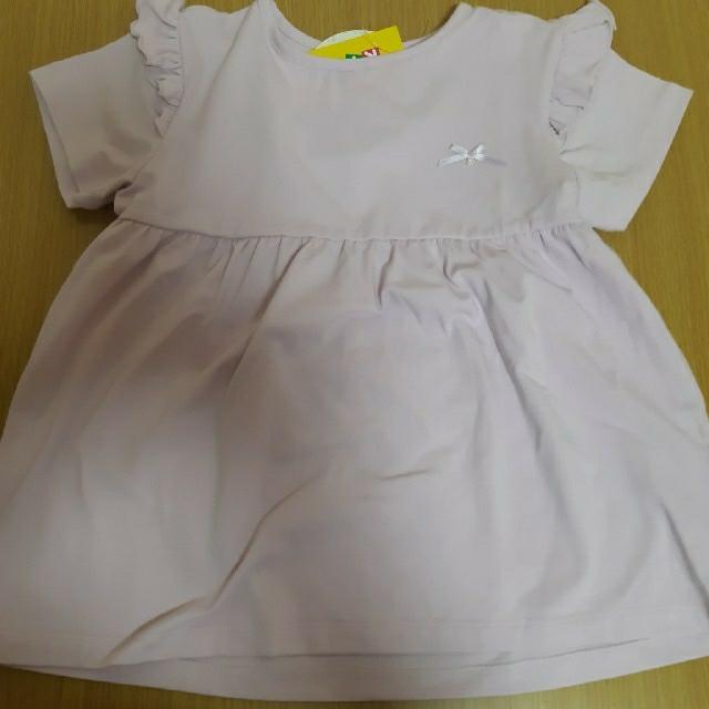 しまむら(シマムラ)のしまむら 120 女の子 トップス 半袖 キッズ/ベビー/マタニティのキッズ服女の子用(90cm~)(Tシャツ/カットソー)の商品写真