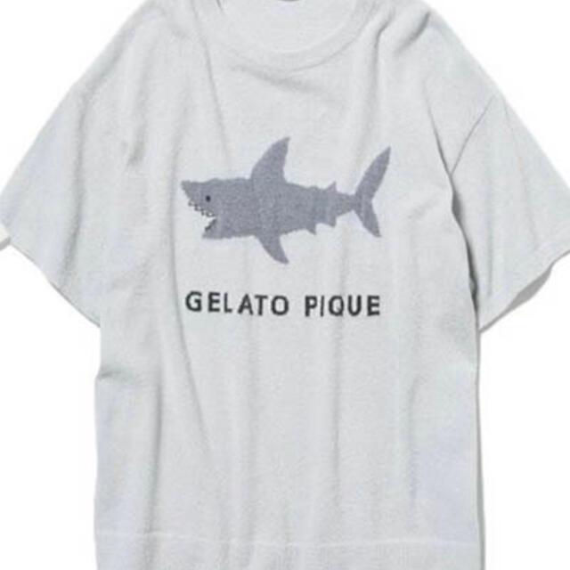 gelato pique(ジェラートピケ)のジェラートピケ モチーフジャガード ワンポイント プルオーバー ショートパンツ レディースのルームウェア/パジャマ(ルームウェア)の商品写真