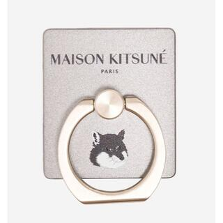 MAISON KITSUNE' - IRING FOX HEAD バンカーリング スマホスタンド 人気商品