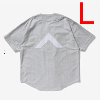W)taps - 送込 L 21SS Wtaps ベースボールシャツ リーグ