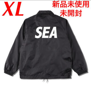 SEA - 新品 WIND AND SEA コーチジャケット ロゴ COACH JACKET