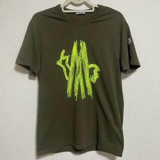 モンクレール(MONCLER)の美品★モンクレール メンズ Tシャツ Lサイズ(Tシャツ/カットソー(半袖/袖なし))