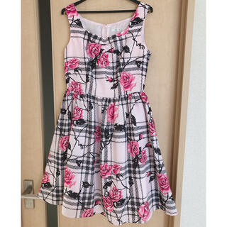 ミルク(MILK)の6月20日まで出品 ラヴィアンローズドレス ピンク(ひざ丈ワンピース)