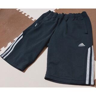 アディダス(adidas)の☆アディダス ハーフパンツ 黒 サイズL 小さめサイズ●AHP-244(ショートパンツ)
