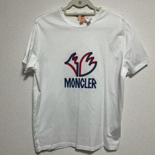 モンクレール(MONCLER)の美品★モンクレール★メンズ Tシャツ Lサイズ(Tシャツ/カットソー(半袖/袖なし))