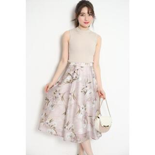Rirandture - リランドチュール シアーフラワースカート 花柄