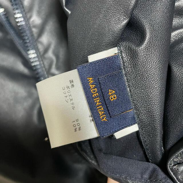 LOUIS VUITTON(ルイヴィトン)の美品★ルイ・ヴィトン アウター メンズのジャケット/アウター(レザージャケット)の商品写真