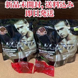 ビーレジェンド(be LEGEND)の【新品未開封】ビーレジェンド プロテイン 激うまチョコ風味 1kg 2袋セット(プロテイン)