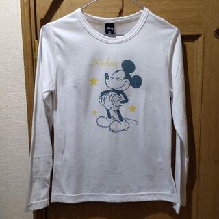 ディズニー(Disney)のディズニー ミッキーのTシャツ(長袖) サイズM(Tシャツ(長袖/七分))