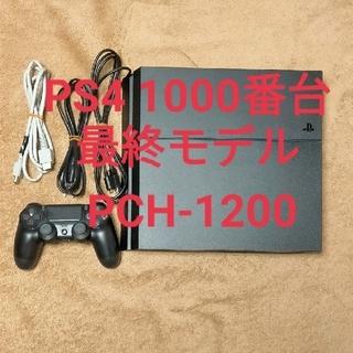 PlayStation4 - PS4 CUH-1200A B01 ジェットブラック 500GB