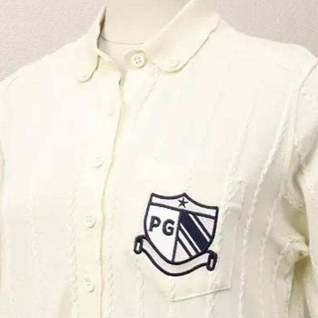 PEARLY GATES(パーリーゲイツ)のパーリーゲイツ ワンピース アイボリー 白 ホワイト スポーツ/アウトドアのゴルフ(ウエア)の商品写真