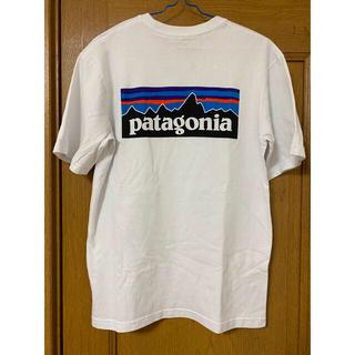 patagonia - 美品 パタゴニア patagonia  半袖T 白 アウトドア マリンスポーツ