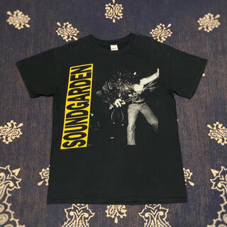 SOUNDGARDEN LOUDER THAN LOVE 両面プリント tシャツ