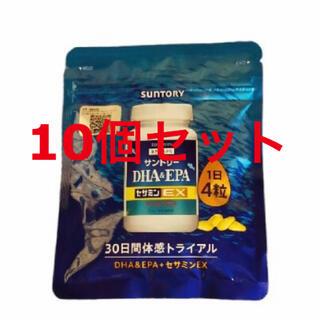 サントリー - サントリー自然のちから DHA&EPA+セサミンEX 10個セット