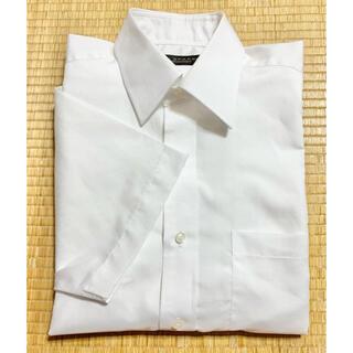 半袖*メンズ*白無地Yシャツ