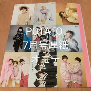 King & Prince キンプリ 厚紙  POTATO 7月号(アイドルグッズ)