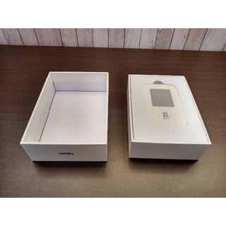 ラクテン(Rakuten)の新品 未使用 購入証書あり Rakuten WiFi Pocket R310 白(その他)