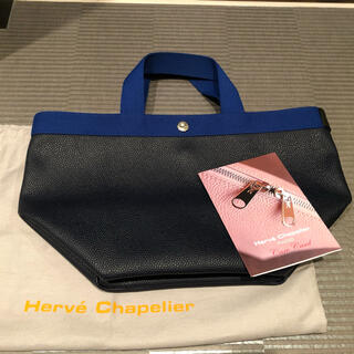 Herve Chapelier - 【美品】エルベシャプリエ 707GP  ネイビー アンディゴ Mサイズ