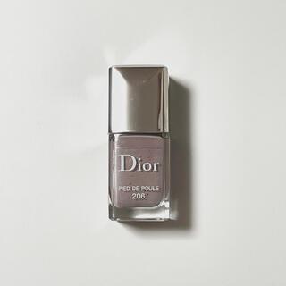 Christian Dior - 訳あり!ディオール ヴェルニ マニキュア 206 限定色