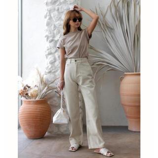 ルームサンマルロクコンテンポラリー(room306 CONTEMPORARY)のroom306 Stitch Straight Wide Pants パンツ(カジュアルパンツ)