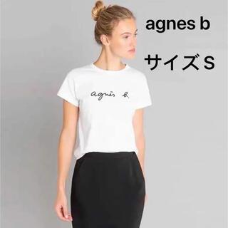 アニエスベー(agnes b.)のagnes b. アニエスベー Tシャツ ティーシャツ 半袖 白 S(Tシャツ(半袖/袖なし))