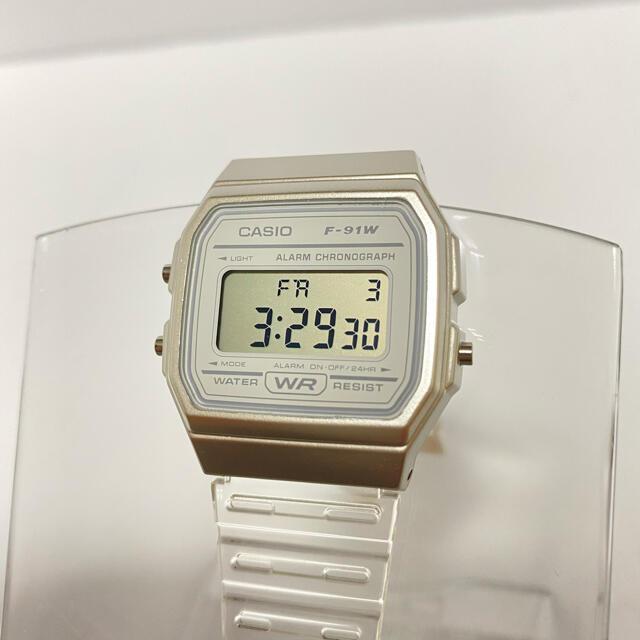CASIO(カシオ)のCASIO カシオ クリアウォッチ チープカシオ ホワイト クリア スケルトン メンズの時計(腕時計(デジタル))の商品写真