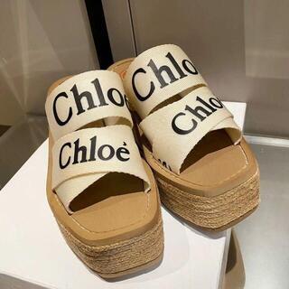 Chloe クロエ「Woody」  サンダル