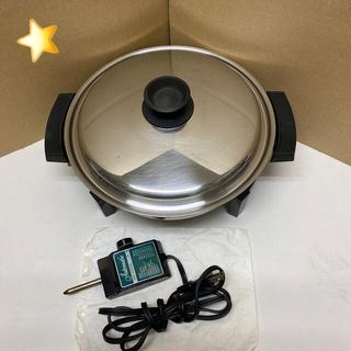 ロイヤルクイーン Liquid Core   浅型電気フライパン鍋