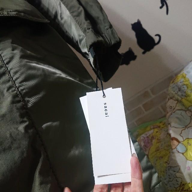 sacai(サカイ)のsacai サカイ 新品 今期 ドッキング モッズコート ミリタリージャケット メンズのジャケット/アウター(モッズコート)の商品写真