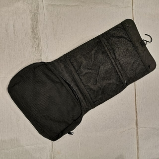トラベルポーチ 吊り下げ 黒 お風呂ポーチ 旅行(旅行用品)