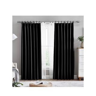 カーテン 1級遮光 4枚組 100x178cm 遮光 防寒 断熱 保温UVカット
