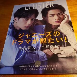 CLUSTER 俳優たちのグラビアとインタビューをキャッチ! Vol.12(アート/エンタメ)