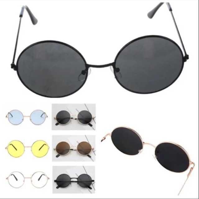 売り切れ続出 ラウンドメタル型 丸サングラス お洒落 丸メガネ メンズのファッション小物(サングラス/メガネ)の商品写真