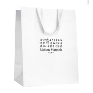 マルタンマルジェラ(Maison Martin Margiela)の新品✩メゾンマルジェラ 紙袋 ショッパー(ショップ袋)