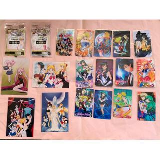 新品 セーラームーン 生写真&カード&カードシールセット(キャラクターグッズ)