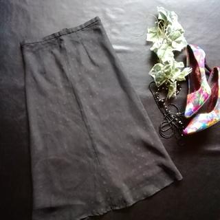 ロペ(ROPE)のロペ♡ドットシフォンスカート(ひざ丈スカート)