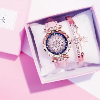 レディース腕時計 ブレスレットセット(腕時計)