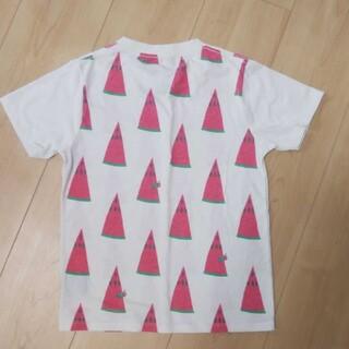 Design Tshirts Store graniph - グラニフ すいかはらぺこあおむし なつの一枚 130㎝