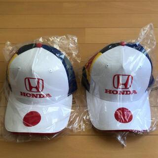 ホンダ(ホンダ)の非売品 ホンダレッドブル F1日本グランプリ 限定キャップ 帽子 未使用 ペア(キャップ)