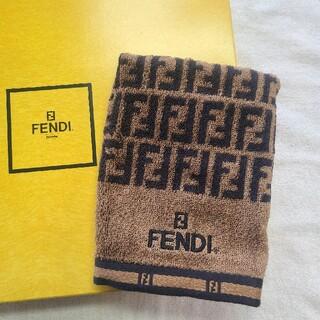 フェンディ(FENDI)のフェンディ ハンドタオル ウォッシュタオル(ハンカチ)