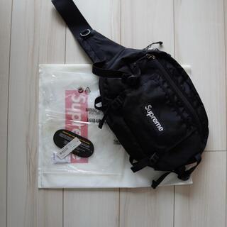 シュプリーム(Supreme)の【早い者勝ち】2016SS Supreme Shoulder Bag Black(ウエストポーチ)