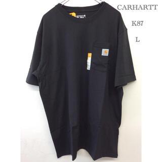 カーハート(carhartt)のカーハート t-シャツ K87 BLACK L CARHARTT t-シャツ (Tシャツ/カットソー(半袖/袖なし))
