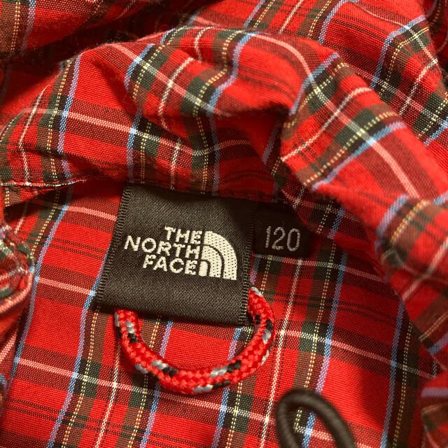 THE NORTH FACE(ザノースフェイス)の♡ノースフェイス♡チェック柄♡レア♡ キッズ/ベビー/マタニティのキッズ服女の子用(90cm~)(ジャケット/上着)の商品写真