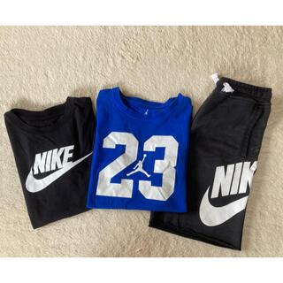 ナイキ(NIKE)のNIKEキッズTシャツ&ショーパンセット(Tシャツ/カットソー)