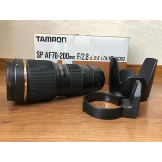 タムロン(TAMRON)の美品☆タムロン SP AF70-200 f2.8DI LD MA(A001E)☆(レンズ(ズーム))