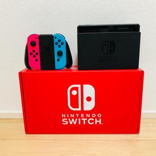 Nintendo Switch - Switch本体セット(ネオンピンク・ネオンブルー)